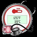 Body Temp. Thermometer Prank icon