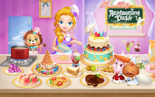 Princess Libby Restaurant Dash 1.0 screenshots 1