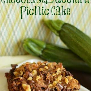 Chocolate Zucchini Picnic Cake