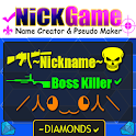 Nickname Creator for fire's free:pseudo name maker icon