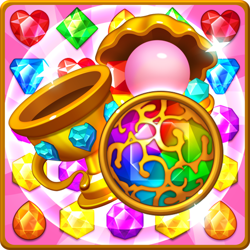 Jewels fantasy : match 3 puzzle Icon