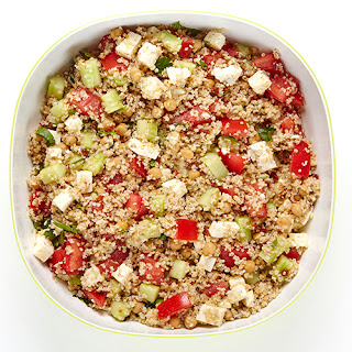 Middle Eastern Tabbouleh Salad.