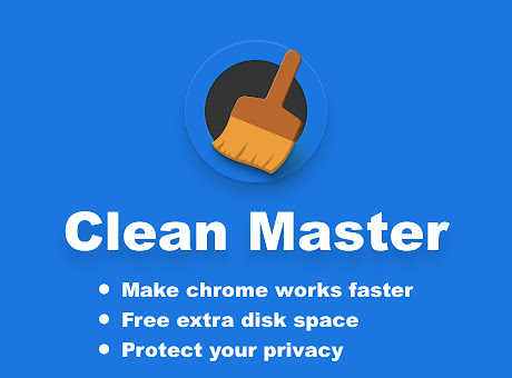 Clean Master: the best Chrome Cache Cleaner