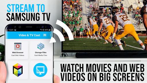 Video & TV Cast | Samsung TV - HD Movie Streaming screenshot 1