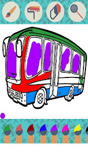 Vehicles Coloring Book - náhled