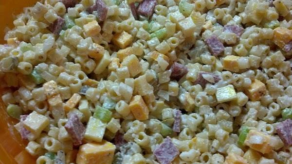 Dunkley's Famous Macaroni Salad Recipe