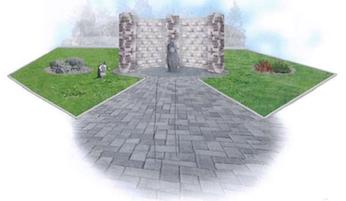 New Memorial Garden for town