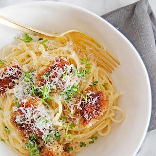 """Mom's Chicken """"Chicky"""" Pasta"""