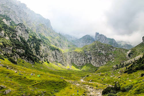 Best Hikes in Europe for Long Distance Hiking Trails // Romania Malaiesti Hut Trek Photo Credit Our World to Wander