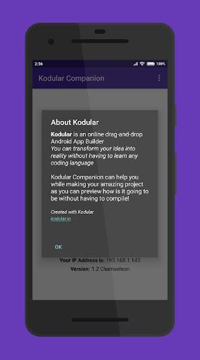 Kodular Companion screenshots 4