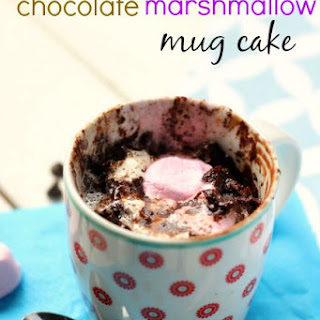 Chocolate Marshmallow Mug Cake