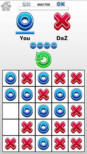 Tic Tac Toe 2 player games, tip toe 3d tic tac toe apktram screenshots 3
