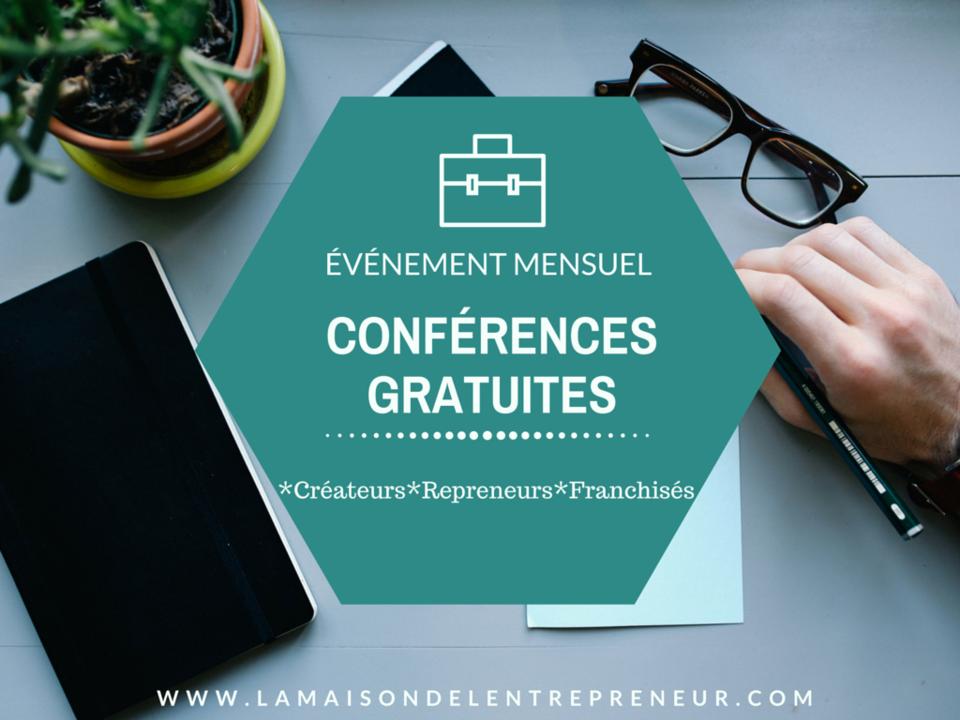 Evénement mensuel : Conférences gratuites