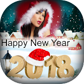 New Year Photo Frame 2018 - Xmas Photo Frames
