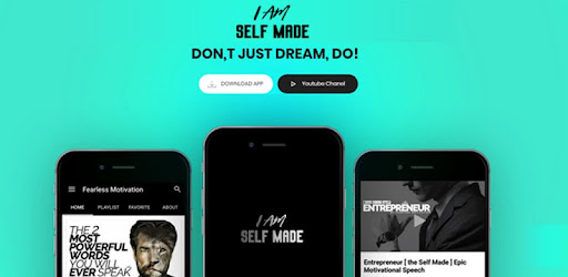 I AM SELFMADE - AppFor Fearless Motivation Videos - Apps on