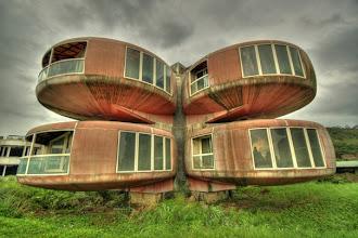 Photo: The Ufo House (Sanjhih, Taiwan)