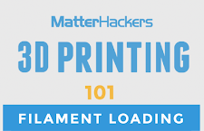 3D Printing Video Tutorial - Loading or changing filament