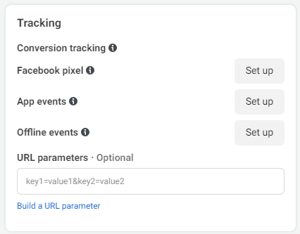 tracking events on facebook and off-facebook