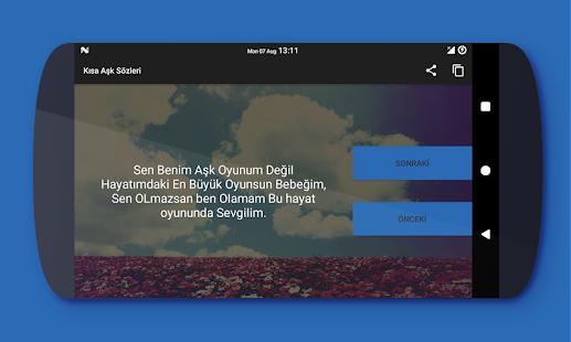 Kısa Aşk Sözleri - náhled