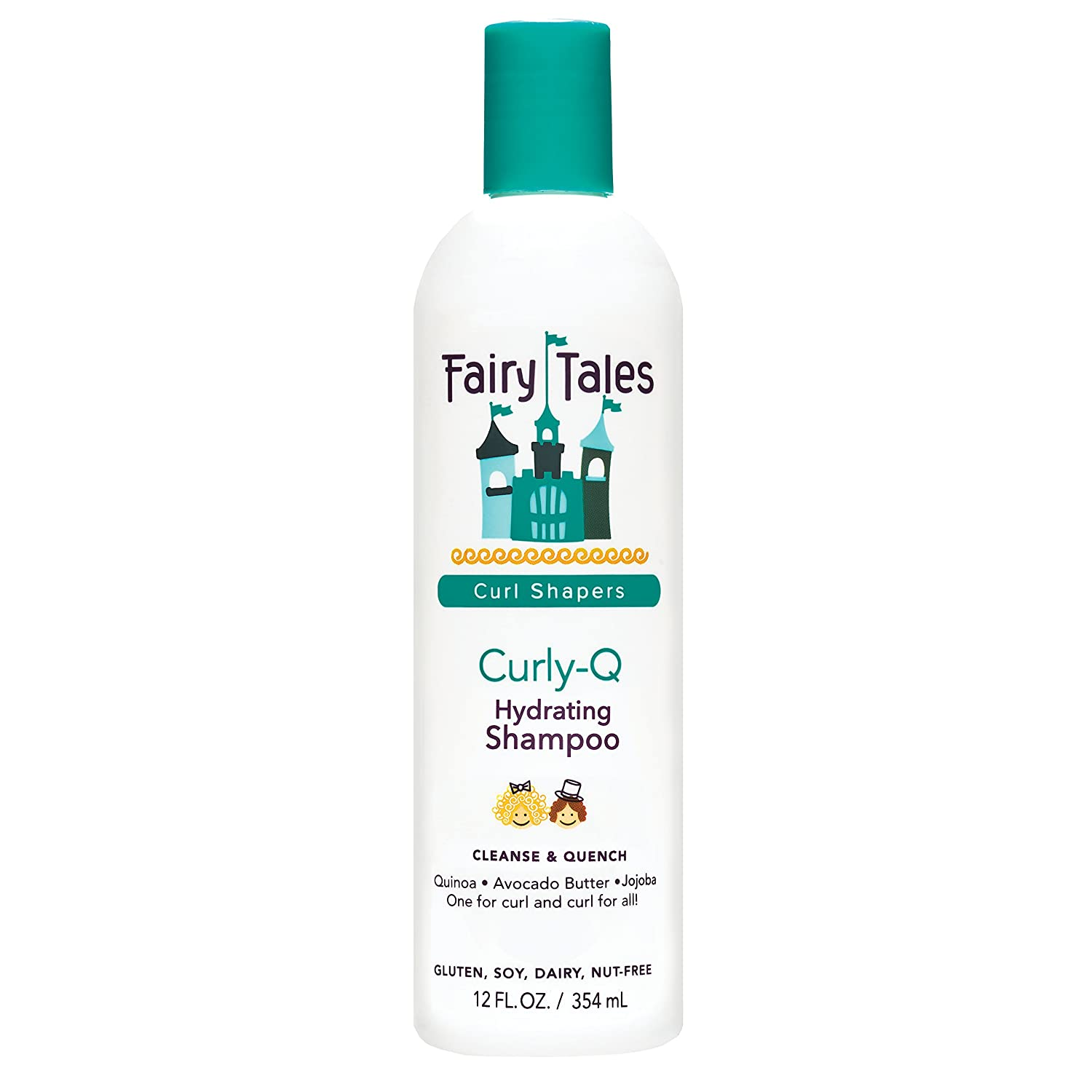 Fairy Tales Curly-Q Daily Hydrating Shampoo for Kids