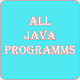 All Java Programs for PC-Windows 7,8,10 and Mac