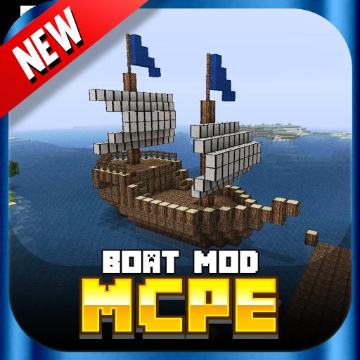 娱乐のBoat MOD For MCPE! LOGO-記事Game