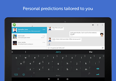 SwiftKey Keyboard + Emoji Screenshot 1