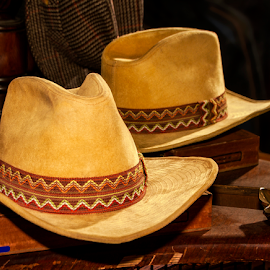 COWBOY HAT WITH REFLECTION by David Dise - Artistic Objects Clothing & Accessories