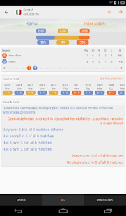 Bet Data - Betting Tips, Statistics, Live Scores- screenshot thumbnail