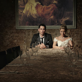 *** by Victor Vertsner - Wedding Bride & Groom ( wedding, couple, table, bride, groom )