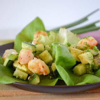 Shrimp Lettuce Wraps.