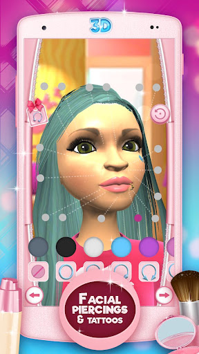 Makeup Games 3D Beauty Salon 3.0.1 screenshots 6