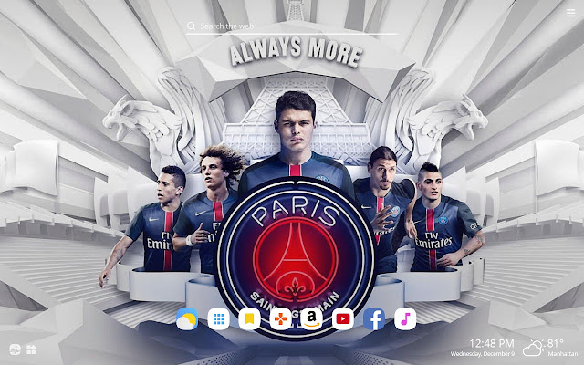 Psg Hd Wallpapers New Tab Theme