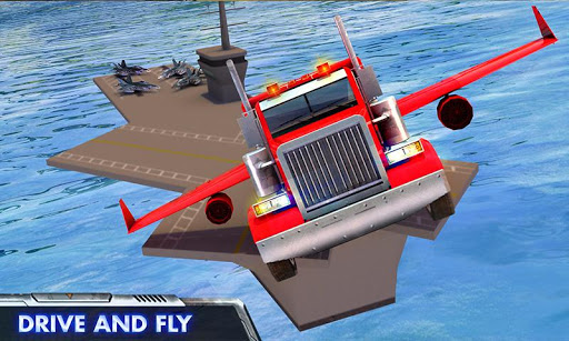 Modern Flying Truck Sim 3D