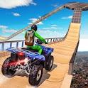 ATV Quad Bike Simulator: Traffic Shooting Game icon