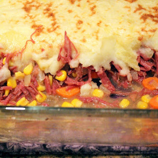 Corned Beef Shepherd's Pie.