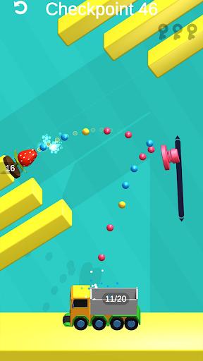 Shot Power 3D: Go Go Color buckets! screenshot 4