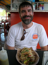 Photo: Paul took me to his favorite taco stand for good food, a Mexican Coke, and a smile!