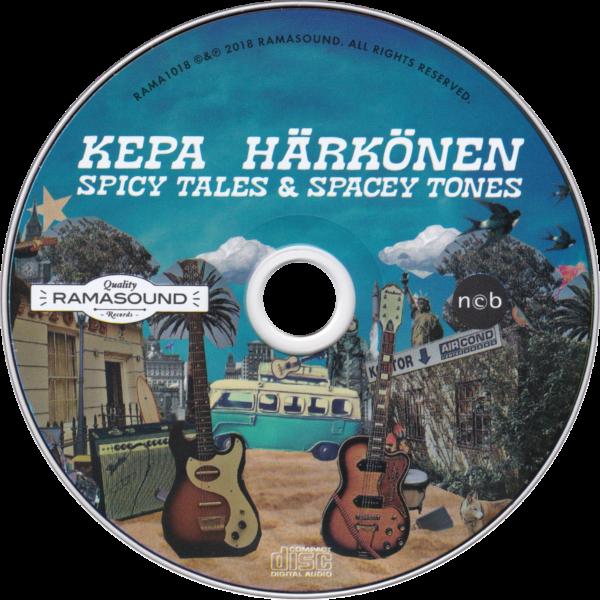 CD: Spicy Tales & Spacey Tones