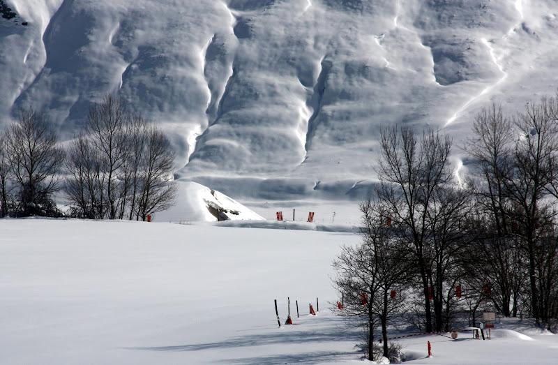 Neve incombente di paolo-spagg