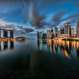 by Gordon Koh - City,  Street & Park  Vistas