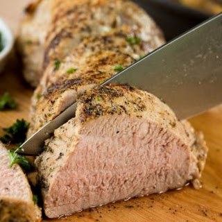 Perfect Roasted Pork Tenderloin.