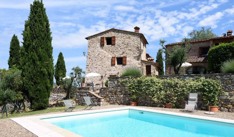 Villa with pool Castellina in Chianti