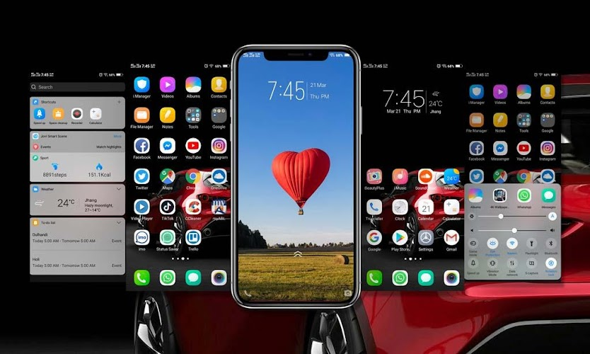 Download Huawei P30 Pro Launcher Theme and Icon Pack APK