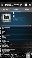 Screenshot of MBRadio.FM