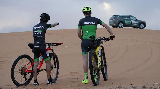 Los vehículos SKODA serán Premium Sponsor de la prueba Titan Desert