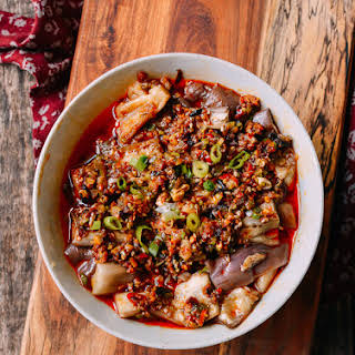 Hunan Steamed Eggplant.