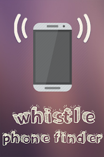 whistle phone finder Screenshot