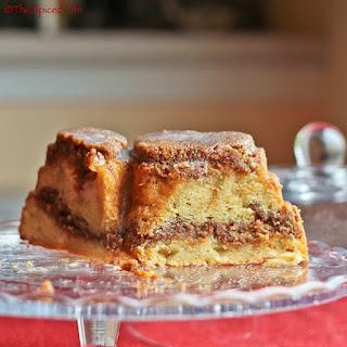 Streusel Apple Bundt Cake
