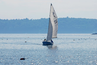 Photo: Sailboat in Pemaquid Harbor